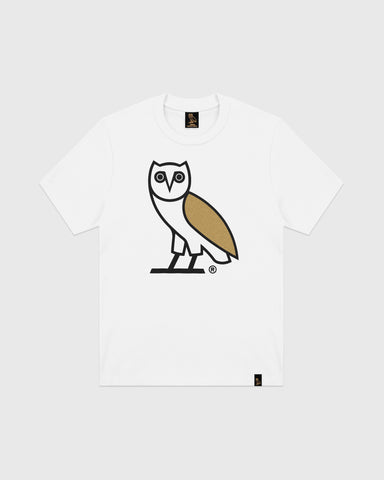 OG OWL T-SHIRT - WHITE