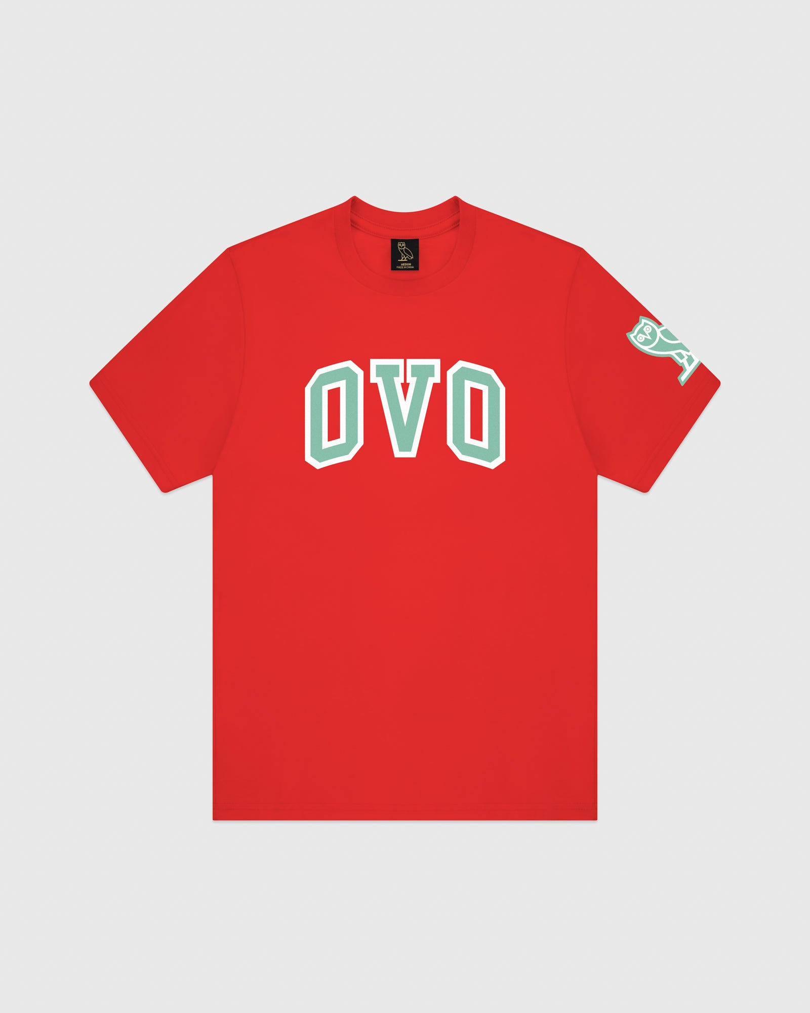ARCH T-SHIRT - RED IMAGE #1