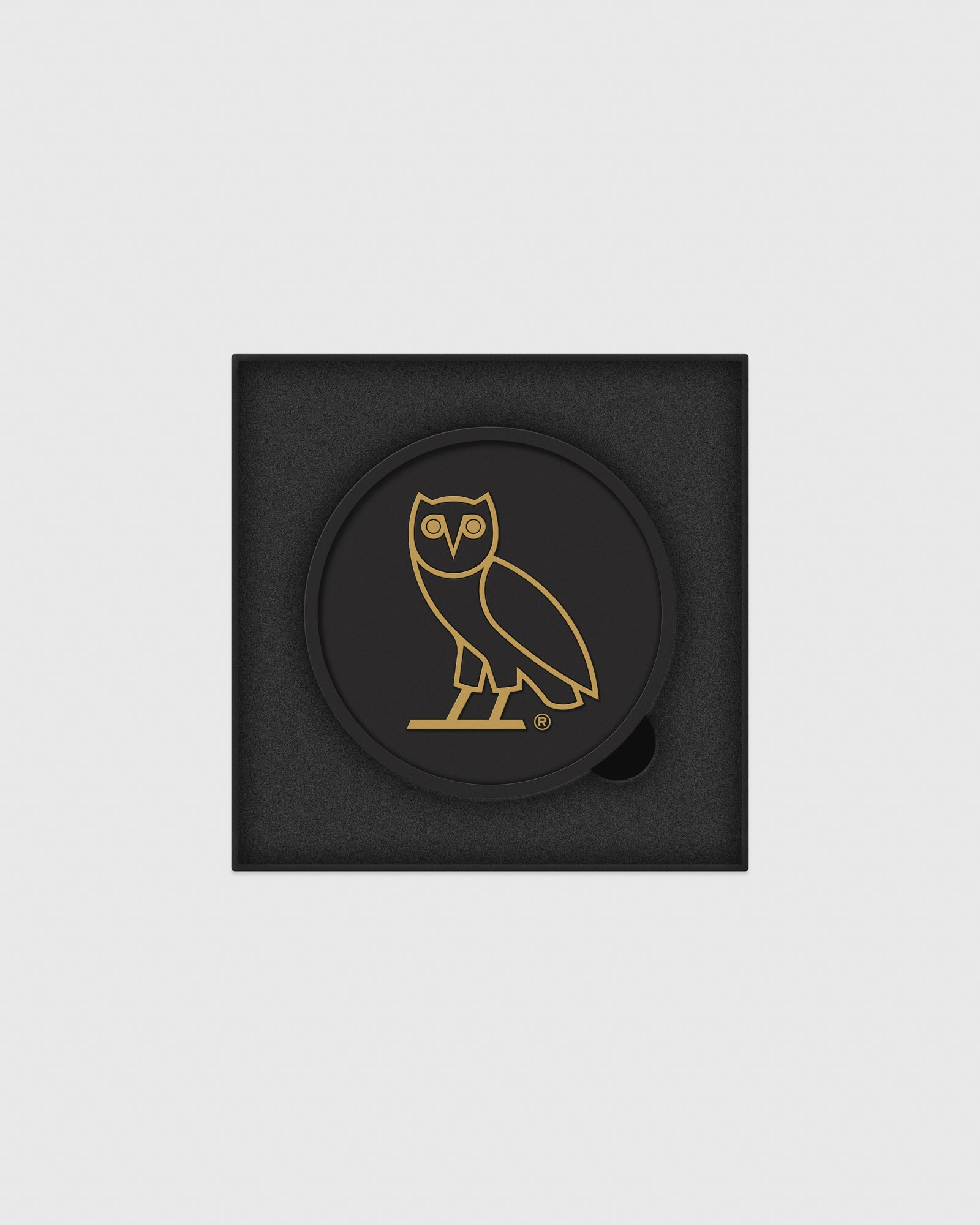 OVO COASTER SET - BLACK