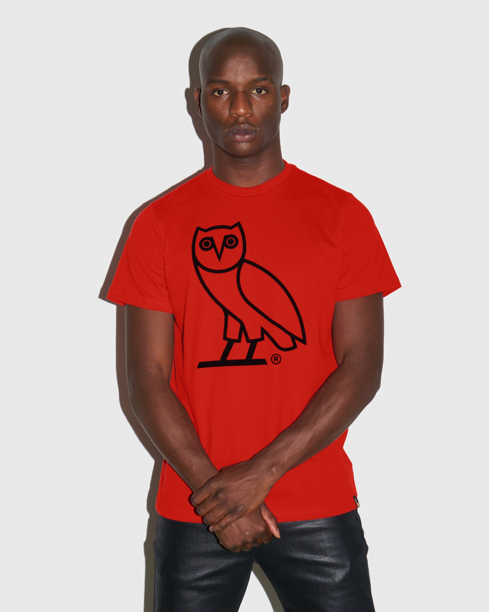 OVO OWL T-SHIRT - RED IMAGE #2