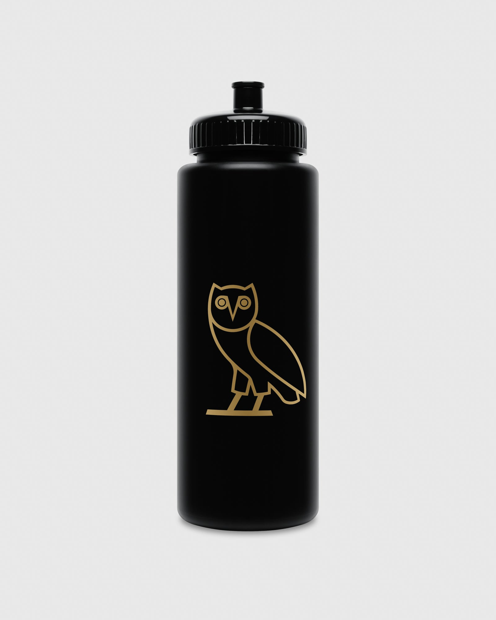 OVO OWL SQUEEZE BOTTLE - BLACK IMAGE #1