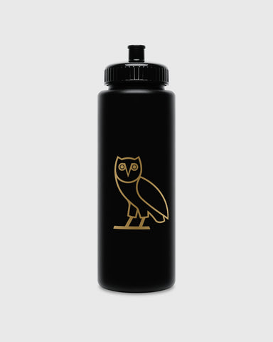 OVO OWL SQUEEZE BOTTLE - BLACK