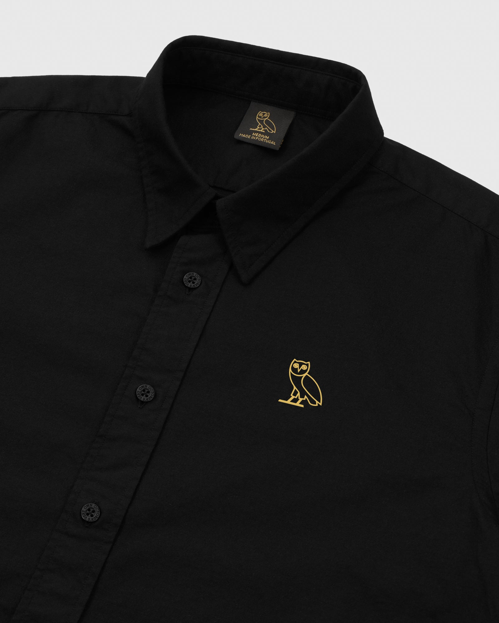 OXFORD SHIRT - BLACK IMAGE #3