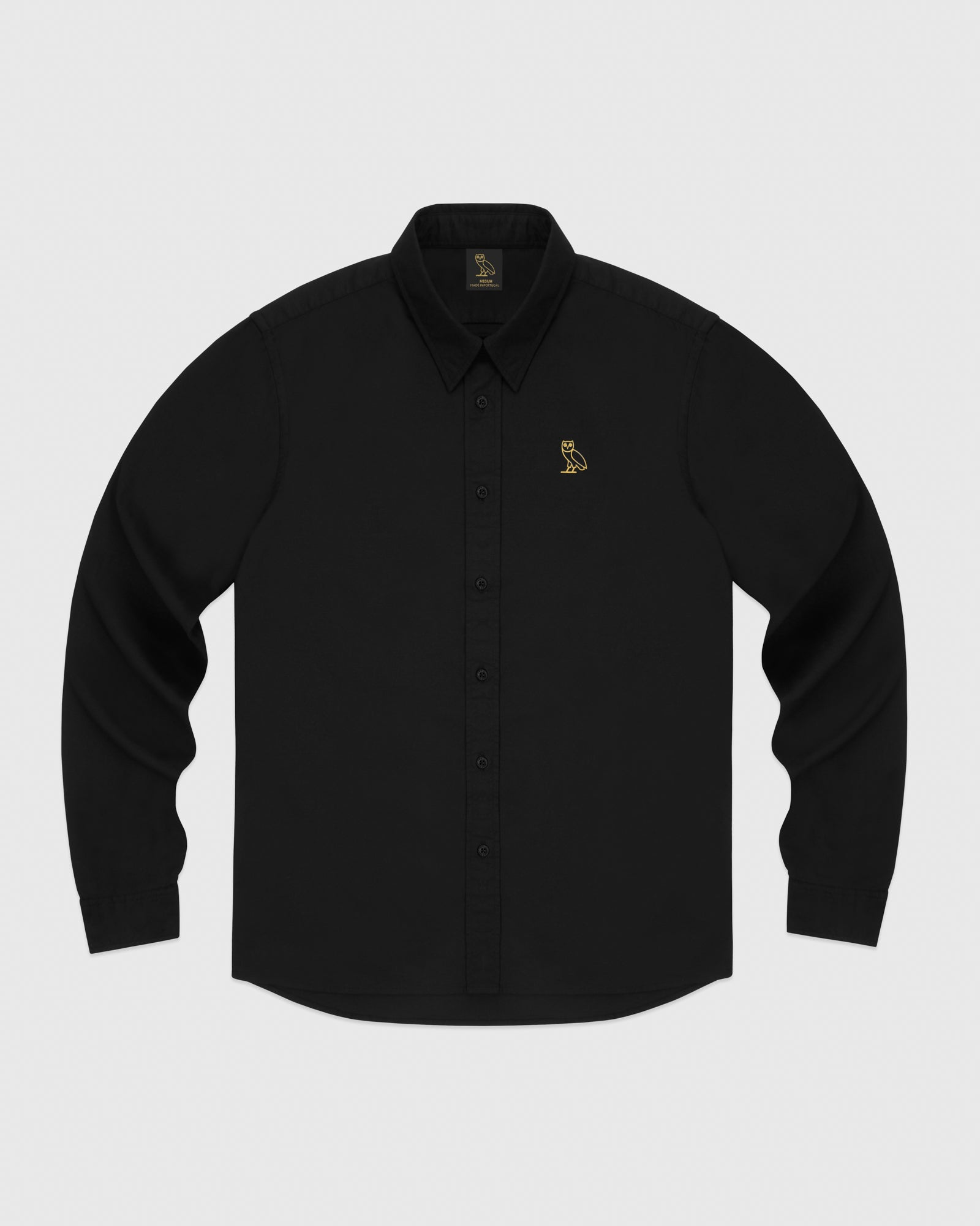OXFORD SHIRT - BLACK IMAGE #1
