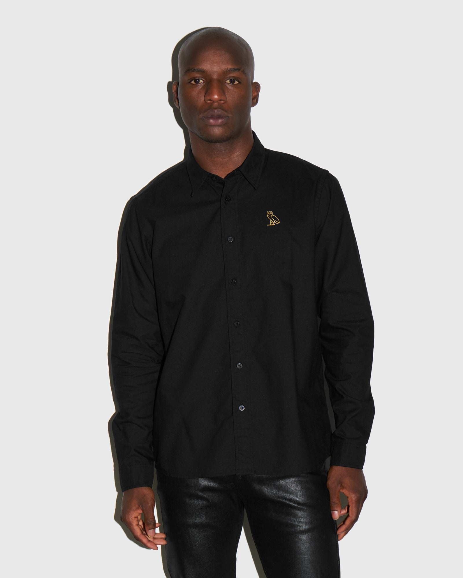 OXFORD SHIRT - BLACK IMAGE #2