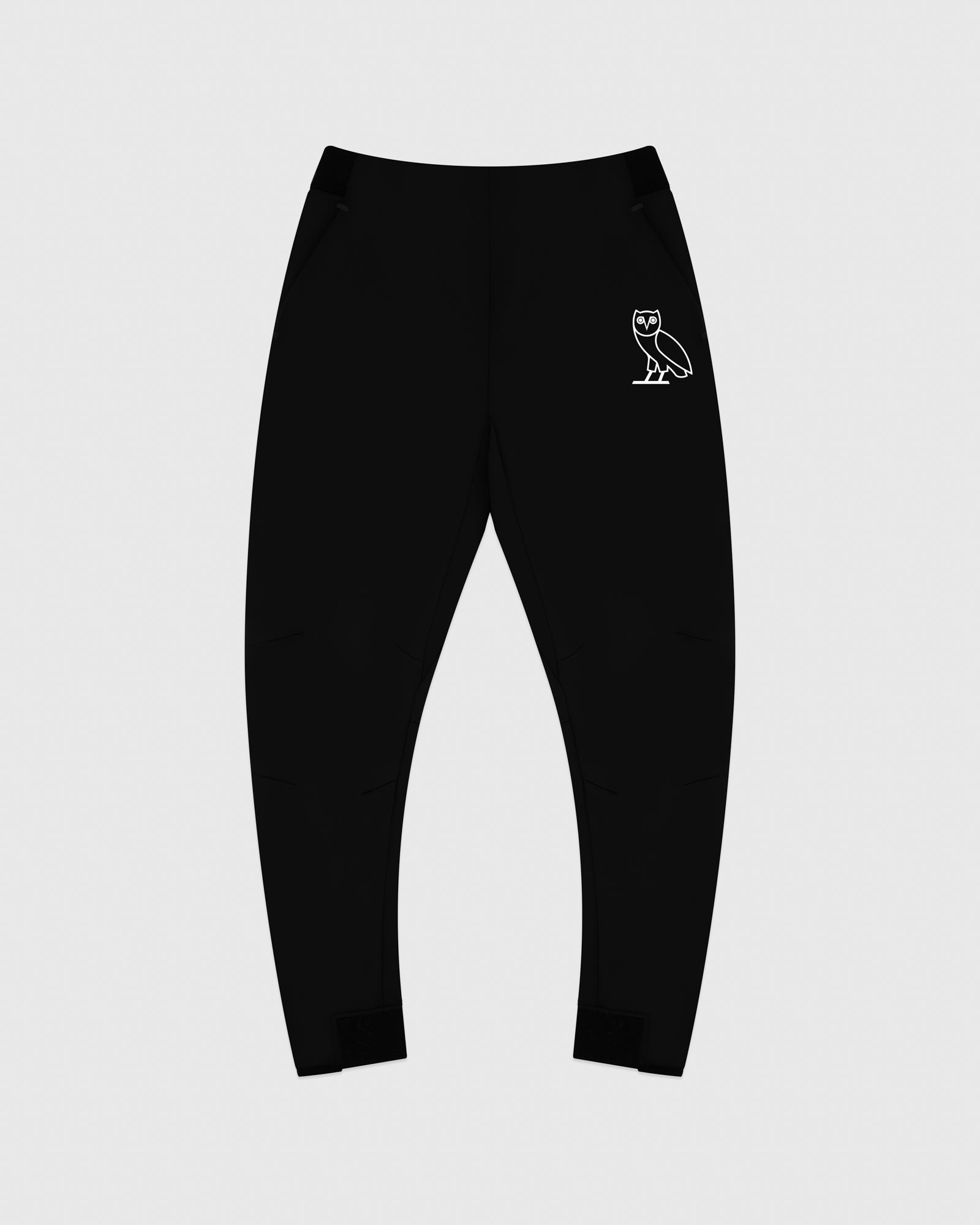 OVO DOUBLE KNIT PANT - BLACK
