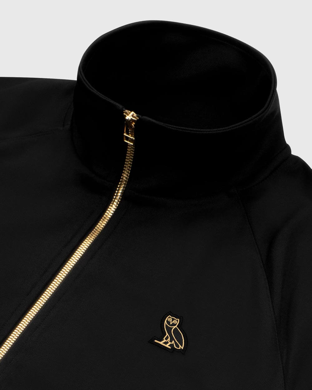 OVO ESSENTIALS PIQUE JACKET - BLACK IMAGE #5