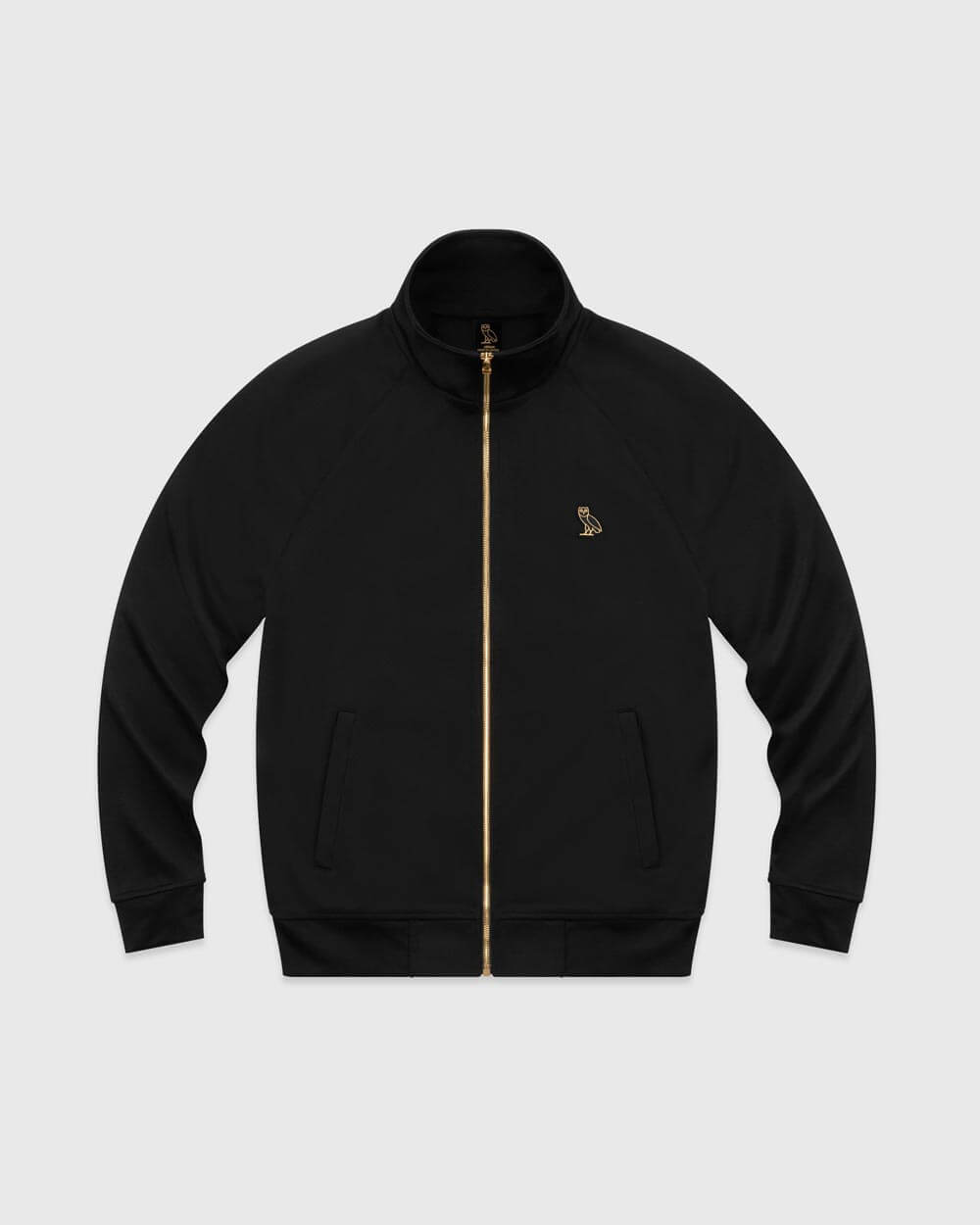 OVO ESSENTIALS PIQUE JACKET - BLACK IMAGE #1