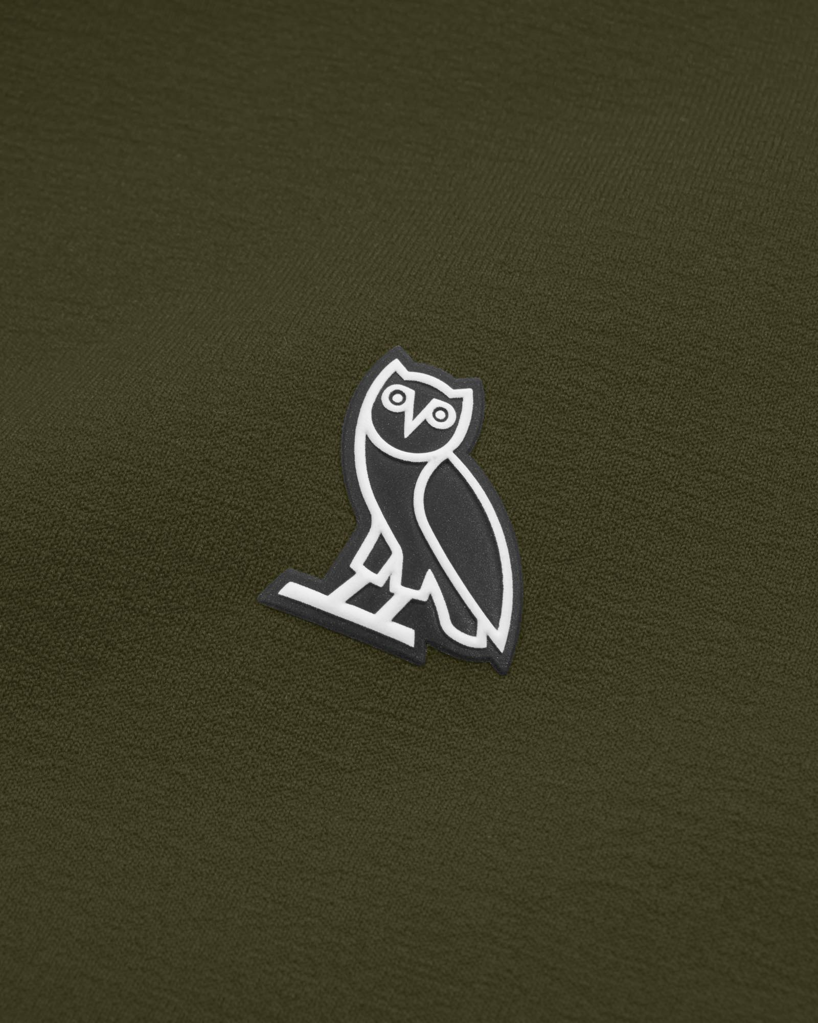 OVO POLARTEC® POWER STRETCH ZIP HOODIE - SQUAD GREEN