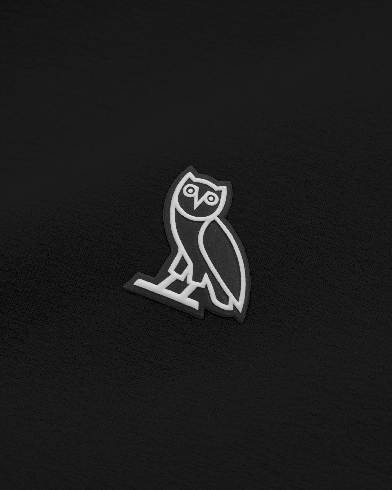 OVO POLARTEC® POWER STRETCH® ZIP MOCK - BLACK IMAGE #3