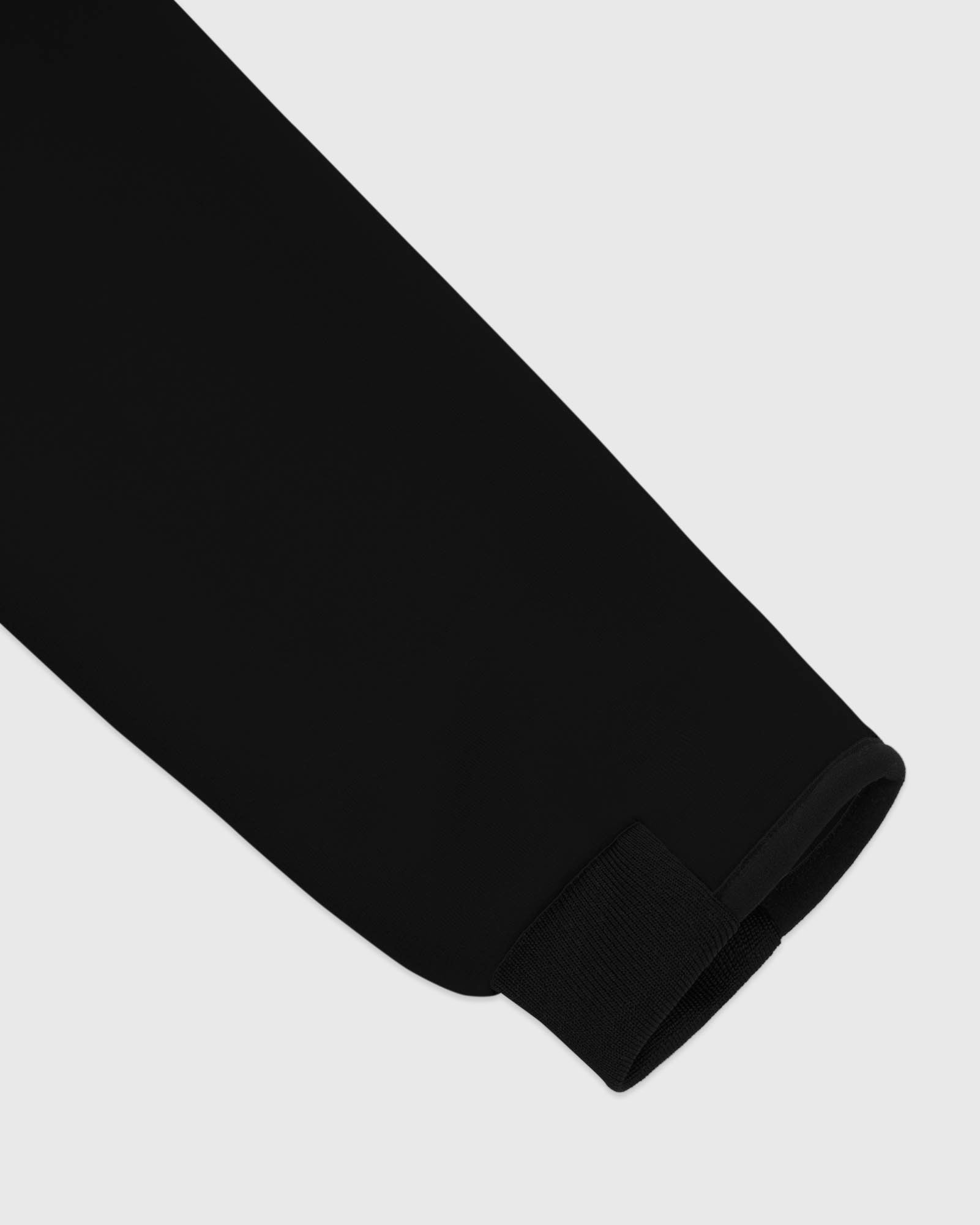 OVO POLARTEC® POWER STRETCH® ZIP MOCK - BLACK IMAGE #5