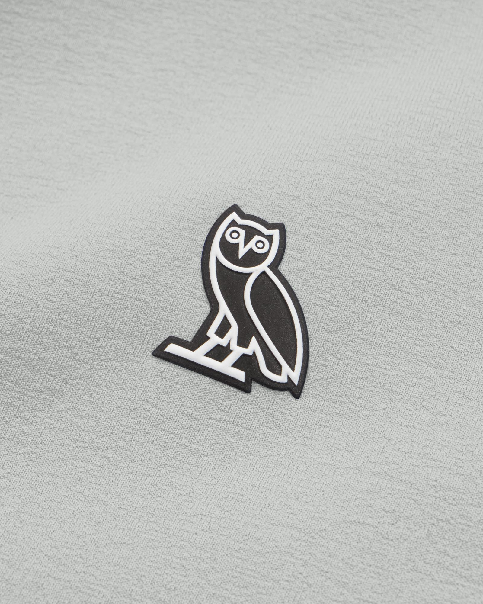 OVO POLARTEC® POWER STRETCH® ZIP MOCK - WARM GREY IMAGE #3