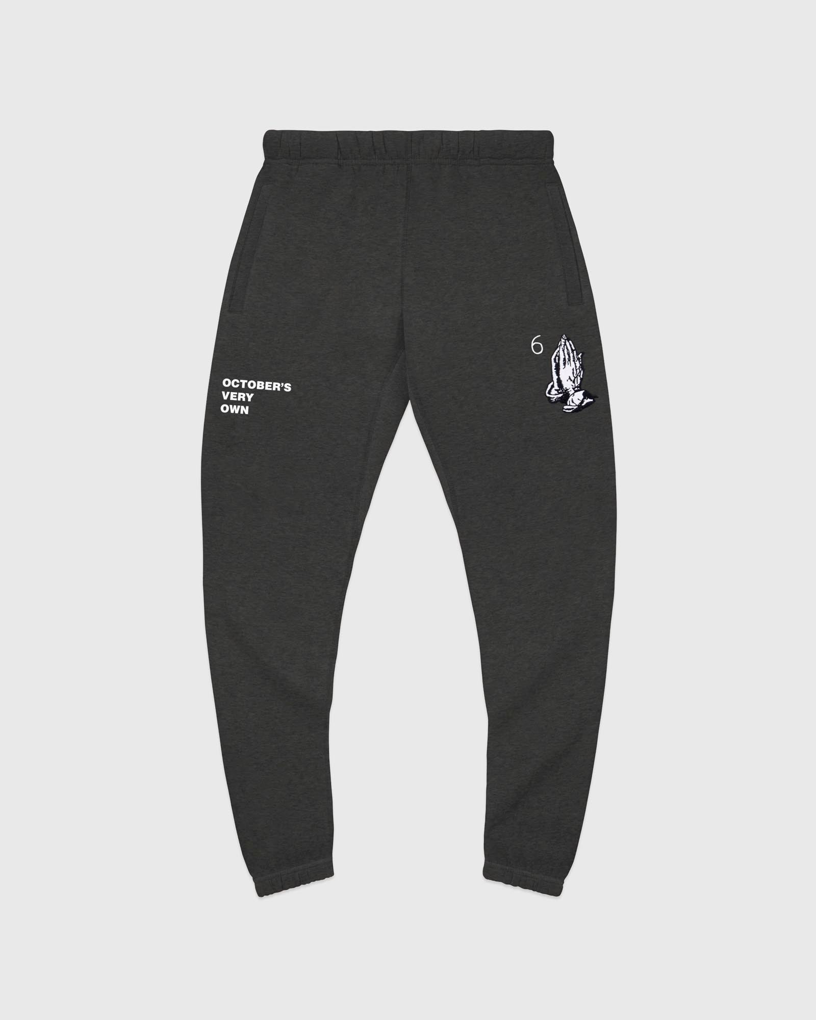 6 GOD SWEATPANT - CHARCOAL HEATHER IMAGE #1