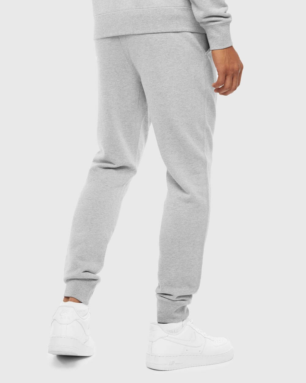 OVO ESSENTIALS SWEATPANT - HEATHER GREY IMAGE #3
