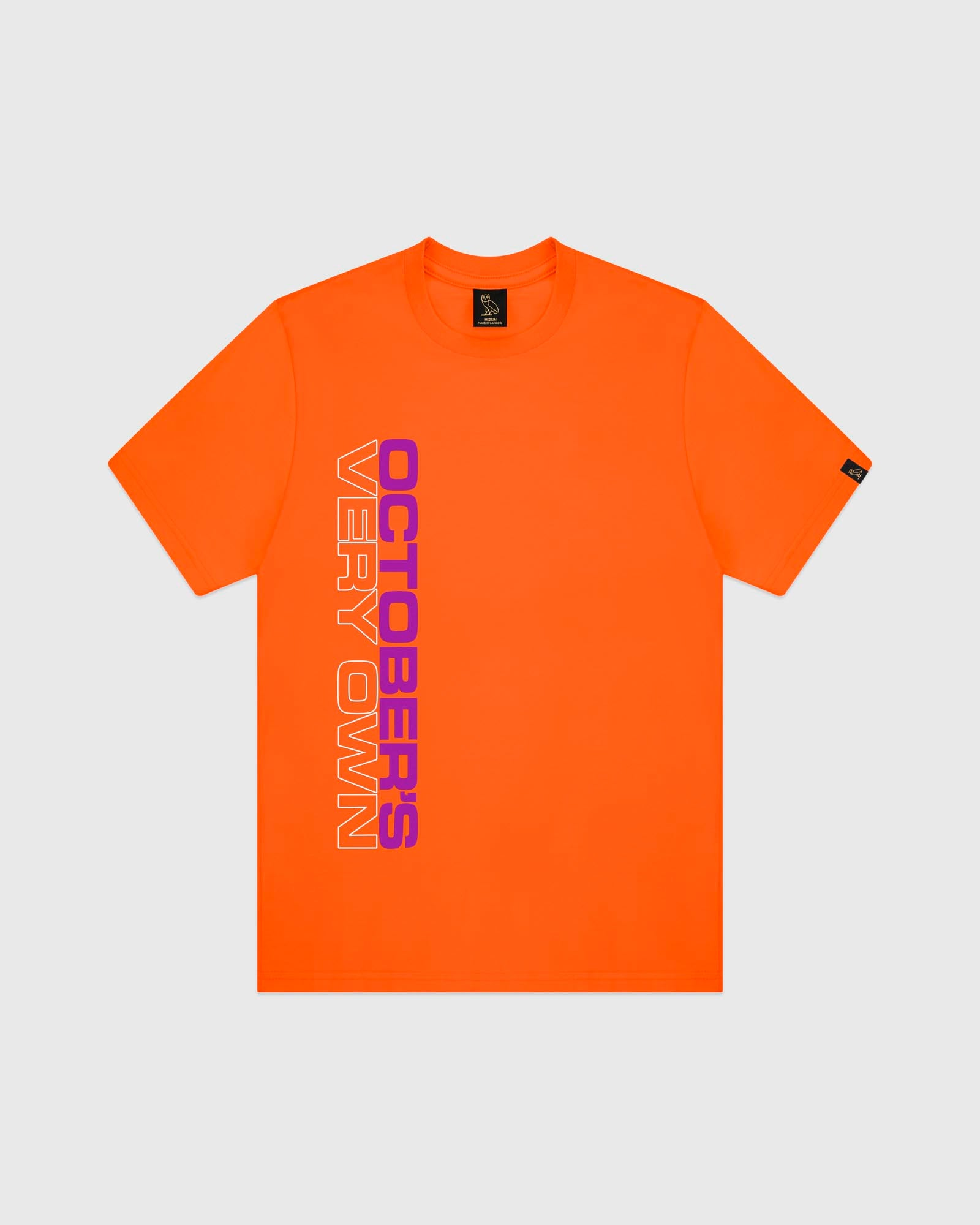 OCTOBER OUTLINE T-SHIRT - ORANGE IMAGE #1
