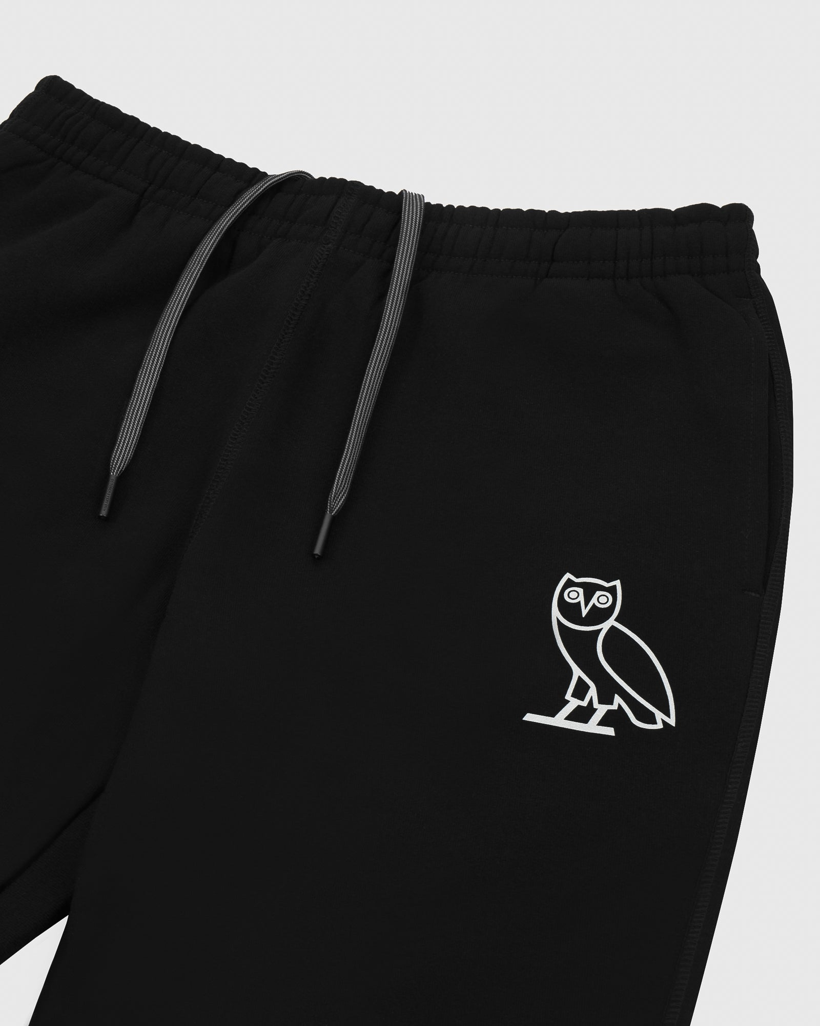 OVO REFLECTIVE OWL SWEATPANT - BLACK