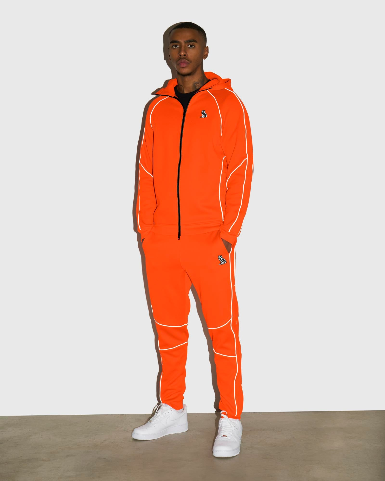 BIRDSEYE SWEATPANT - ORANGE IMAGE #2