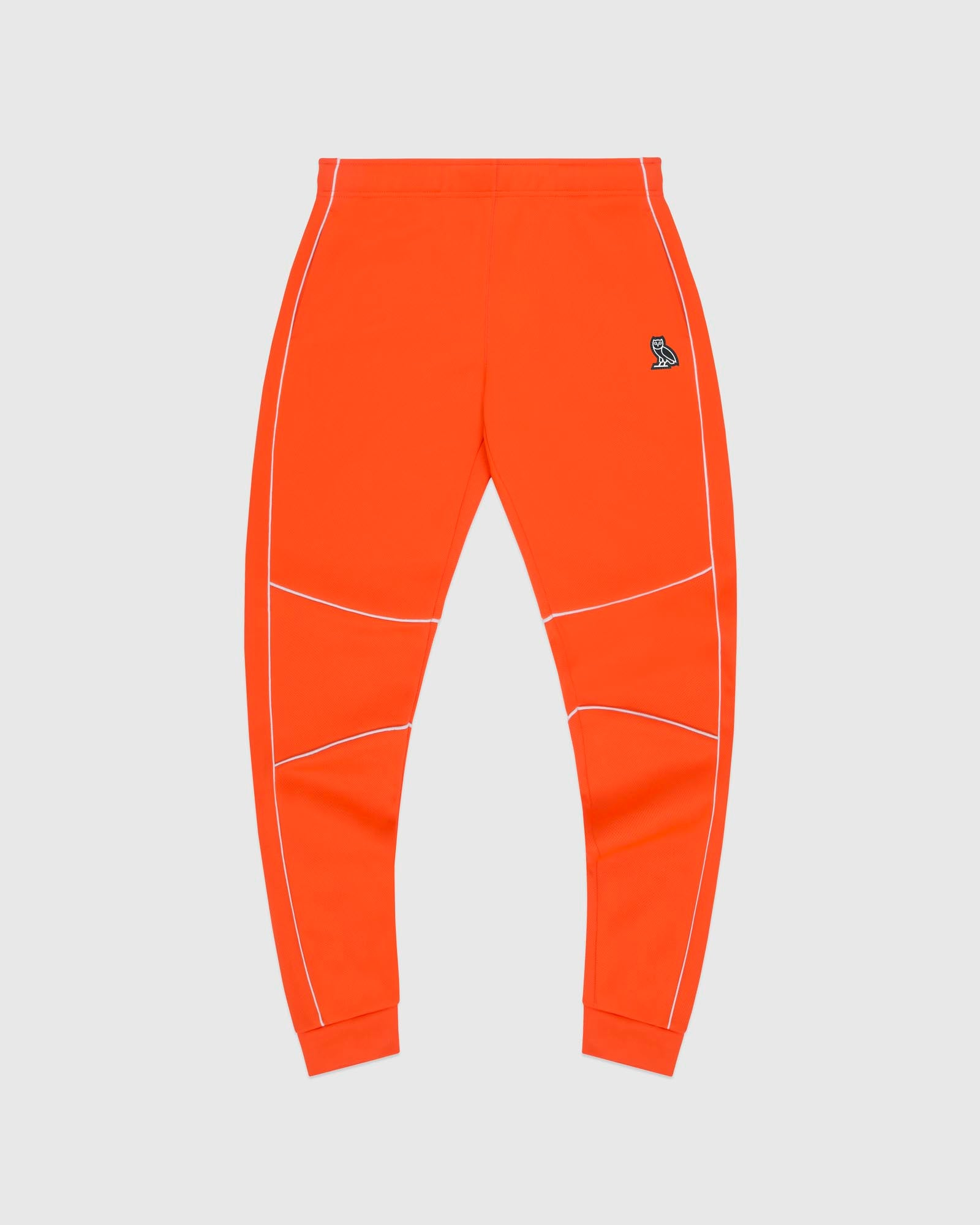 BIRDSEYE SWEATPANT - ORANGE IMAGE #1