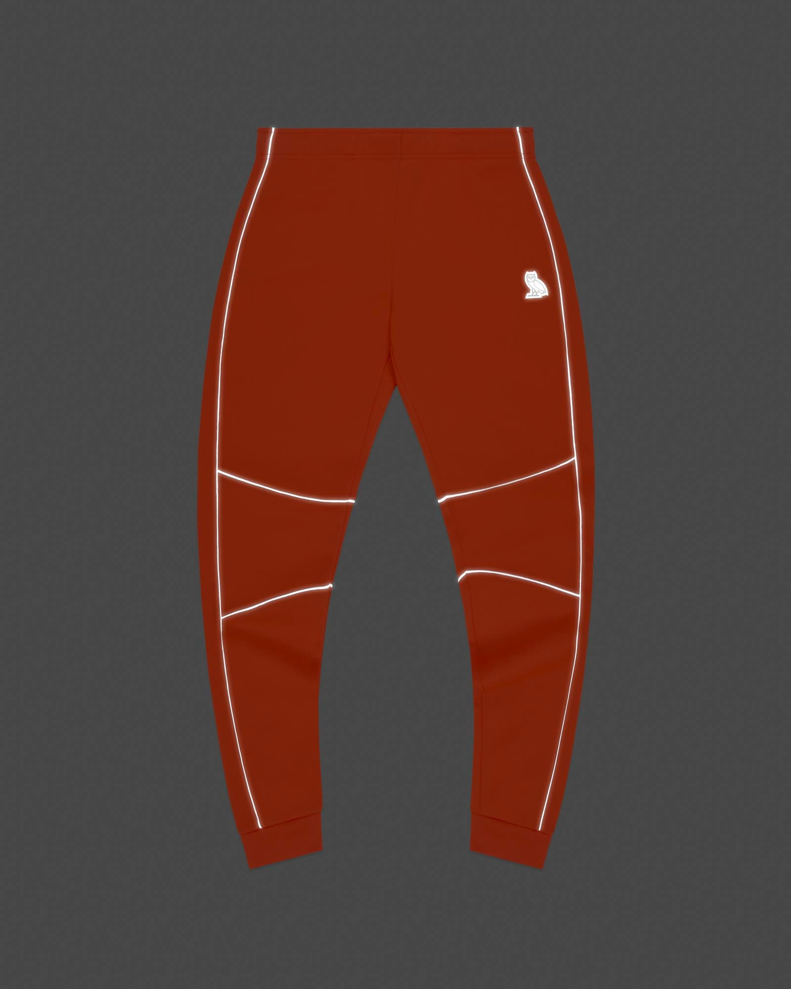 BIRDSEYE SWEATPANT - ORANGE IMAGE #3