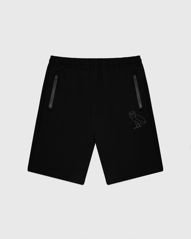 OVO 4-WAY STRETCH SHORTS - BLACK