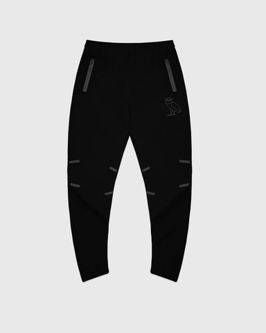 OVO 4-WAY STRETCH SWEATPANT - BLACK