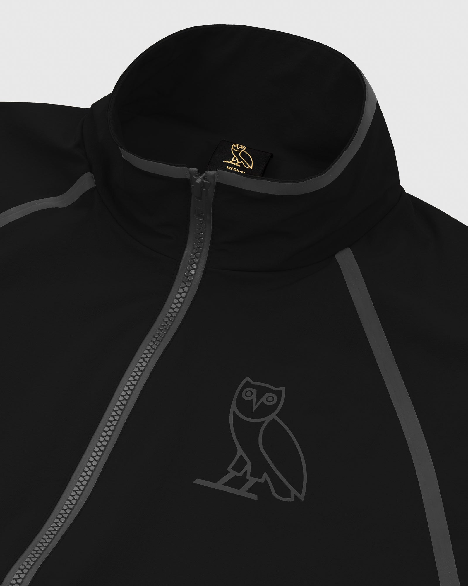 OVO 4-WAY STRETCH ANORAK - BLACK IMAGE #5