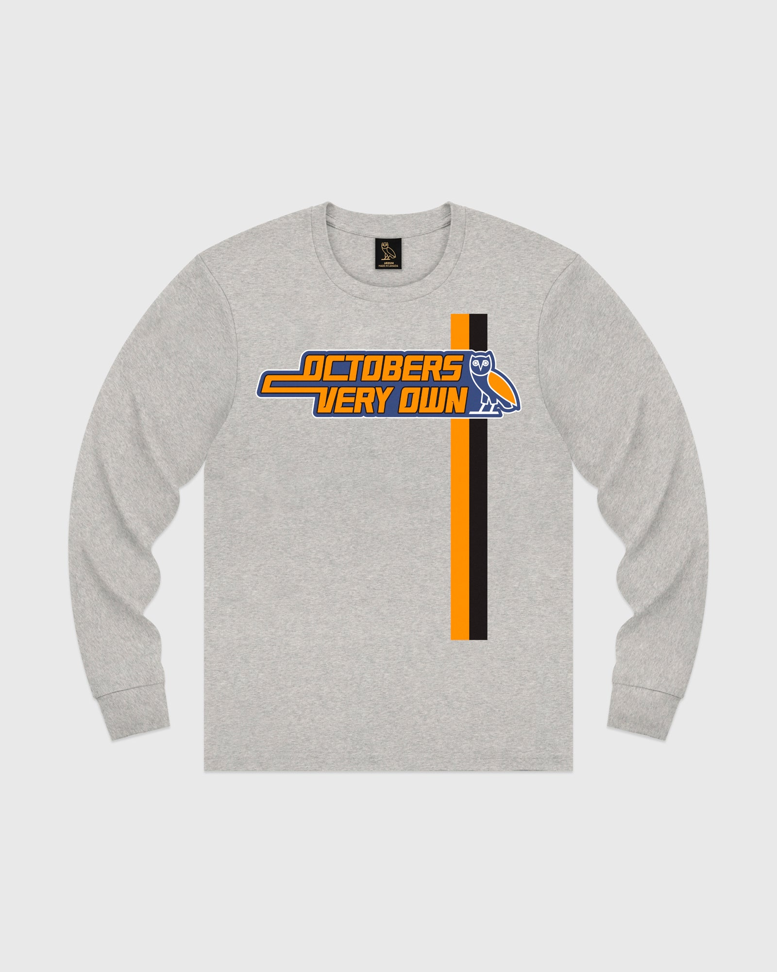 ROADSTER LONGSLEEVE T-SHIRT - HEATHER GREY IMAGE #1