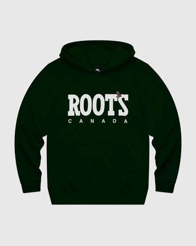 OVO x ROOTS HOODIE - PARK GREEN