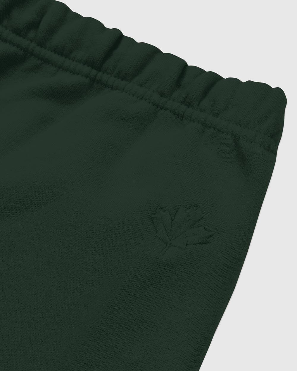 OVO x ROOTS SWEATPANT - PARK GREEN