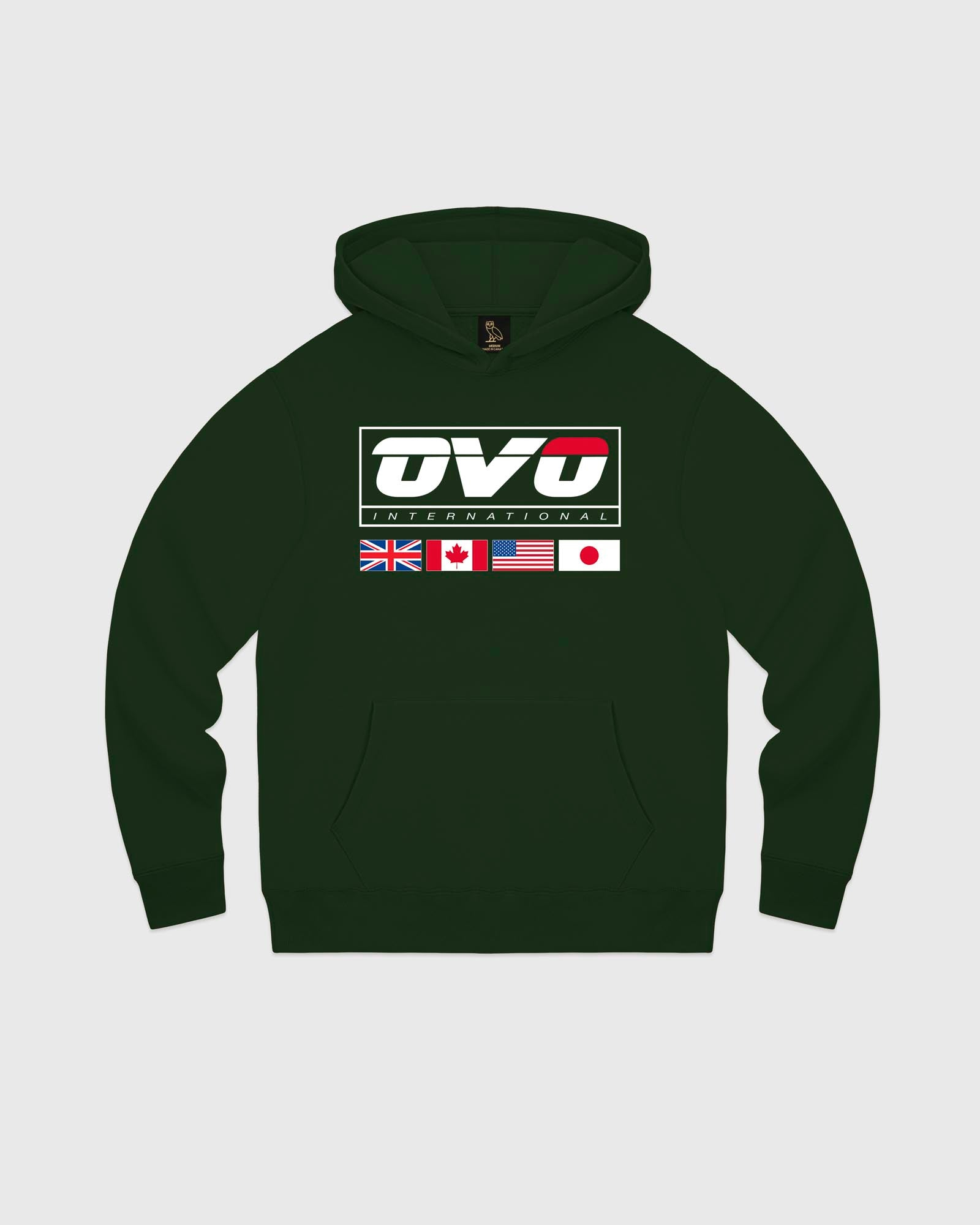INTERNATIONAL HOODIE - FOREST GREEN IMAGE #1