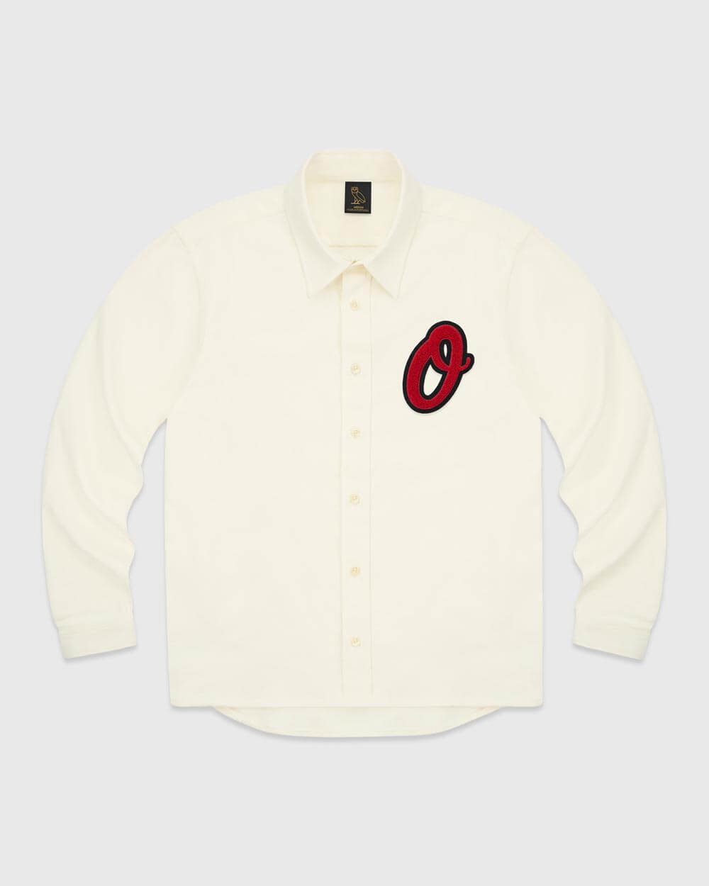 OVO LETTERMAN BUTTON UP - CREAM