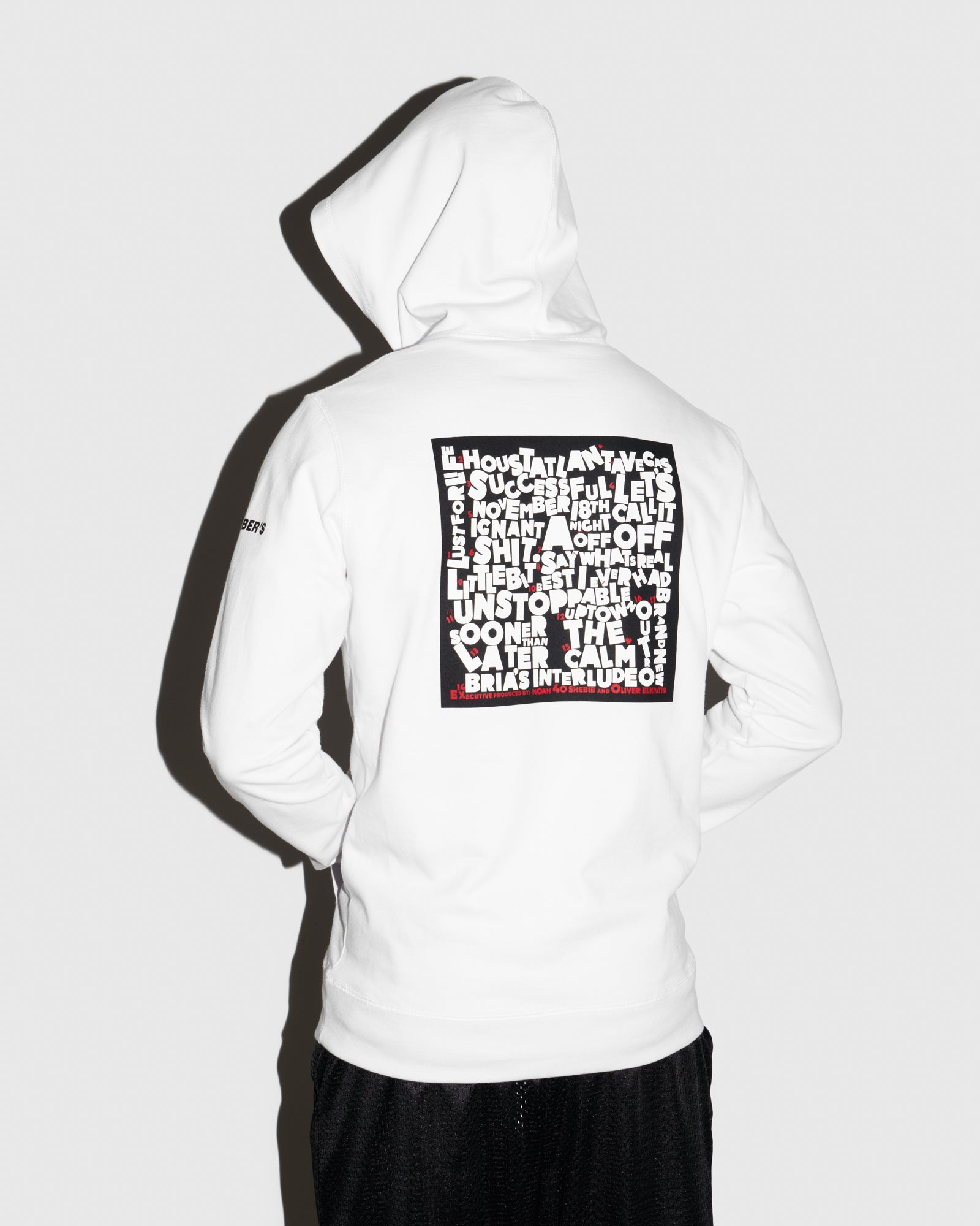 SO FAR GONE HOODIE - WHITE IMAGE #3