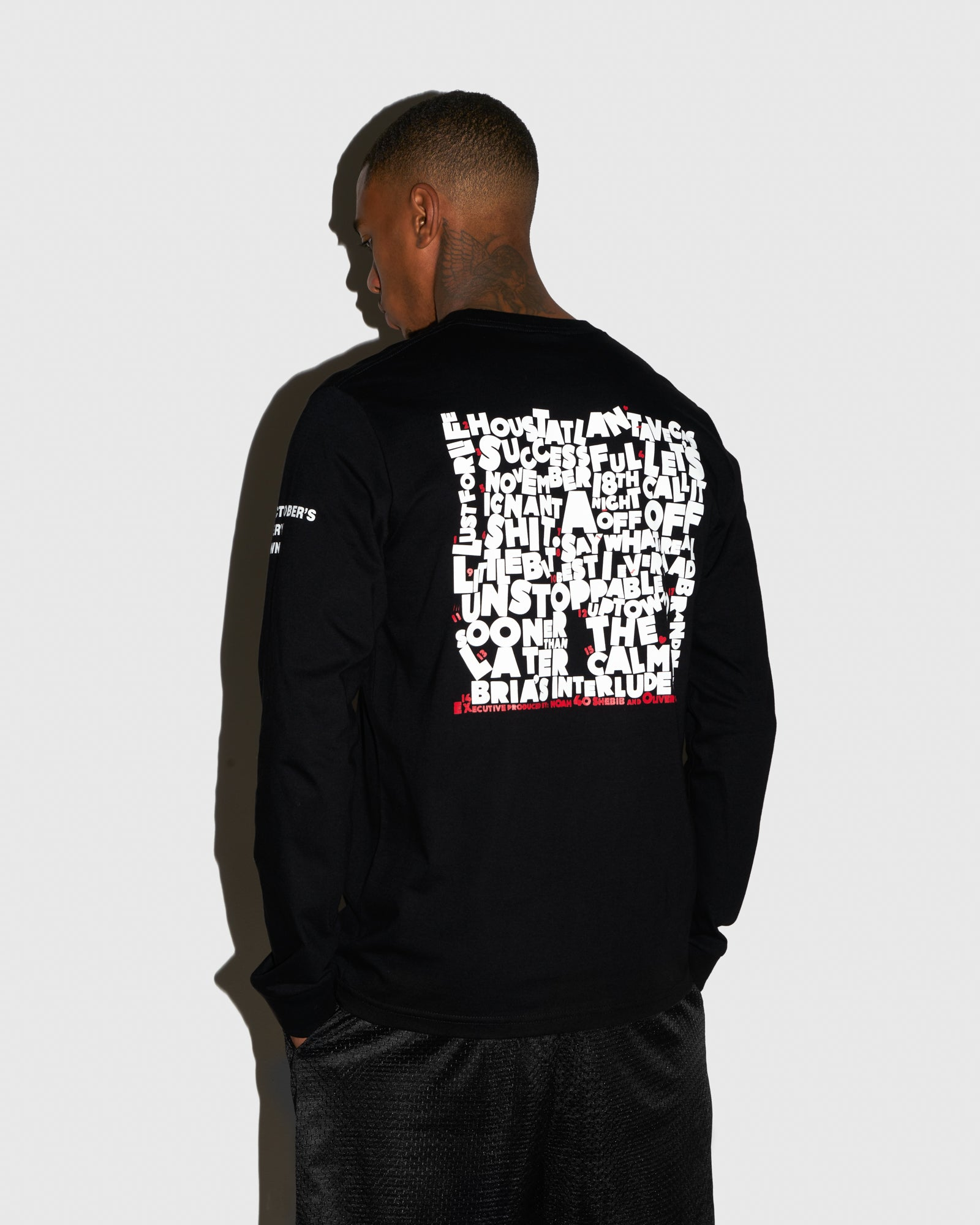 SO FAR GONE LONG SLEEVE T-SHIRT - BLACK IMAGE #3