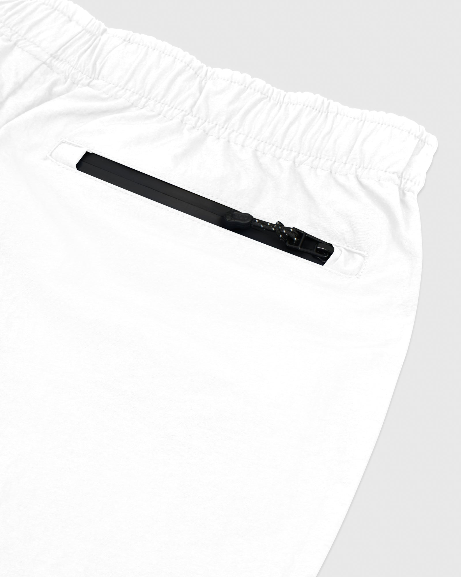 TASLAN ZIP POCKET PANT - WHITE IMAGE #4