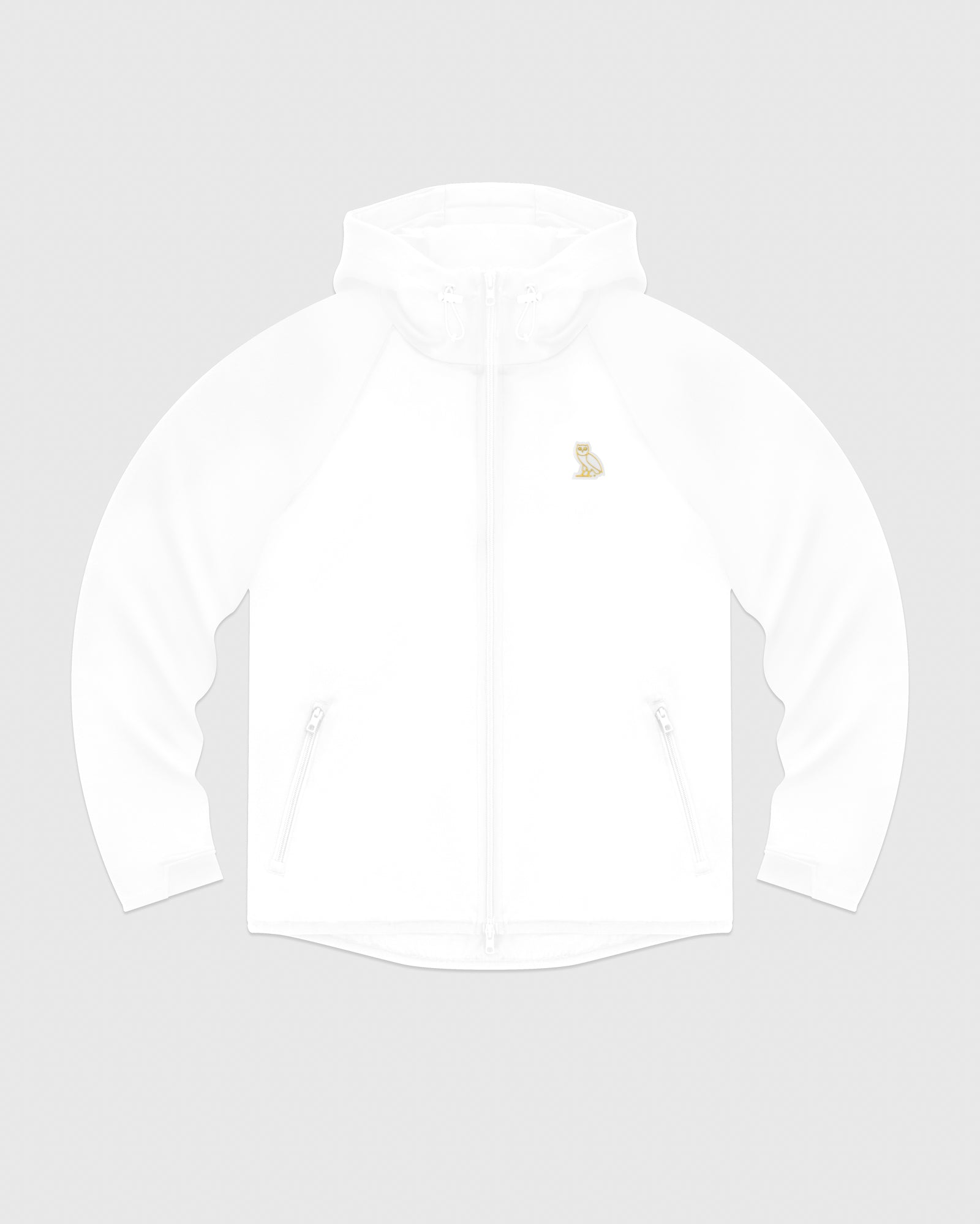 OVO INTERLOCK JACKET - WHITE