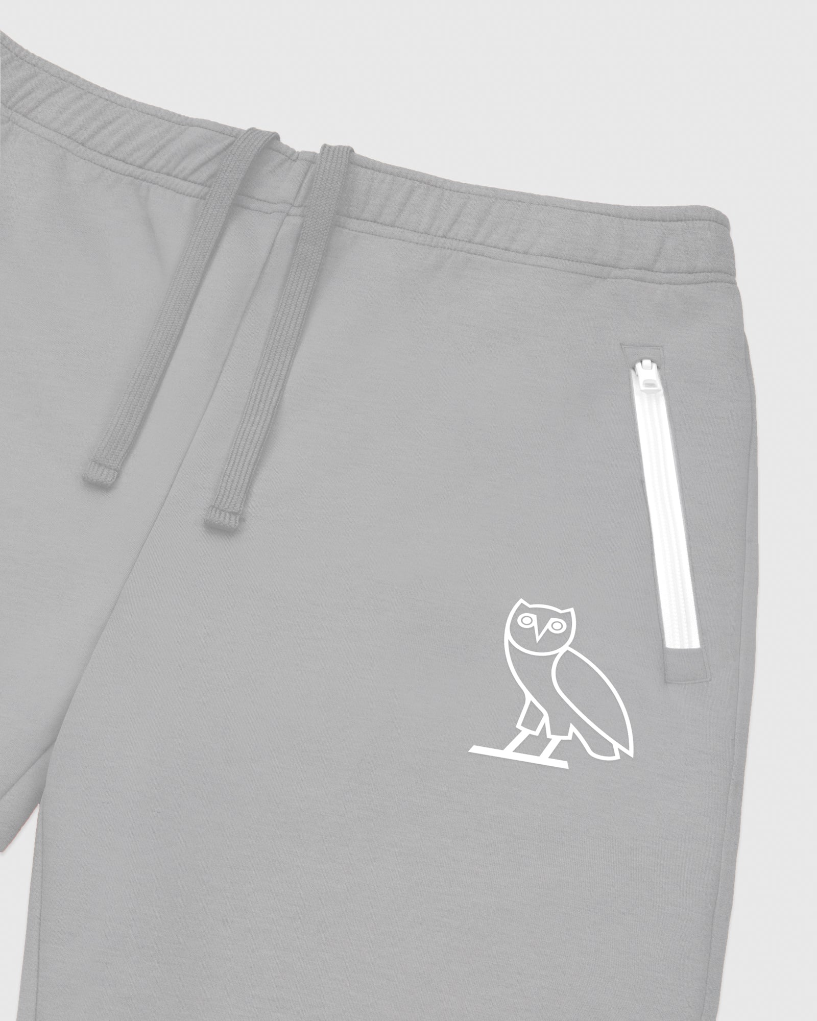 OVO INTERLOCK PANT - HEATHER GREY IMAGE #3
