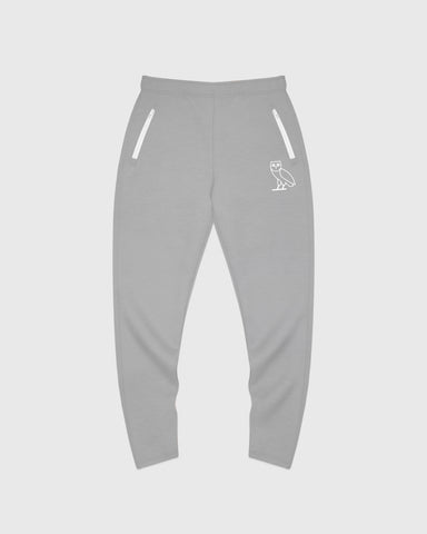 OVO INTERLOCK PANT - HEATHER GREY