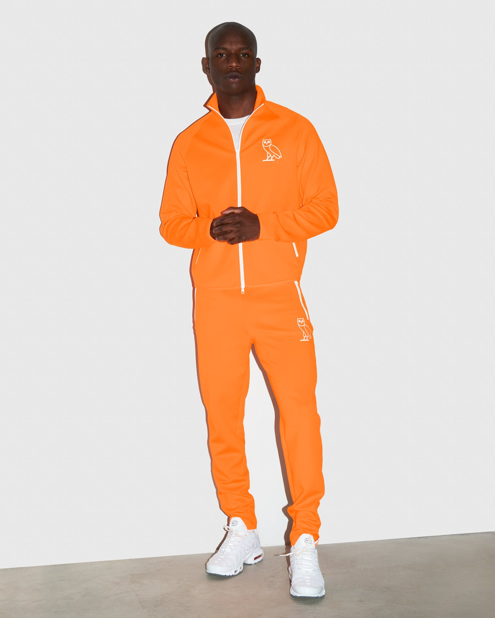 OVO INTERLOCK PANT - NEON ORANGE IMAGE #2