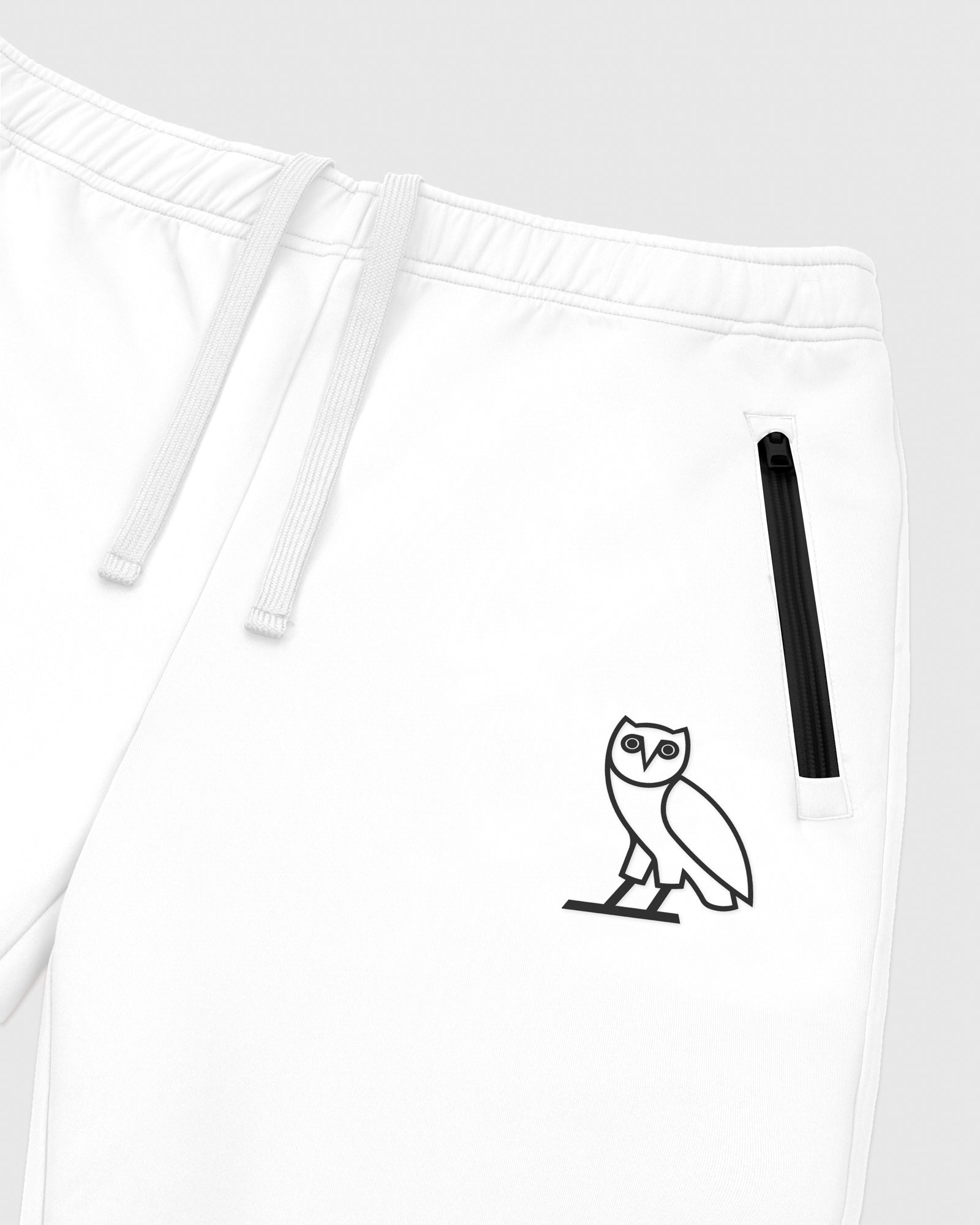 OVO INTERLOCK PANT - WHITE IMAGE #3