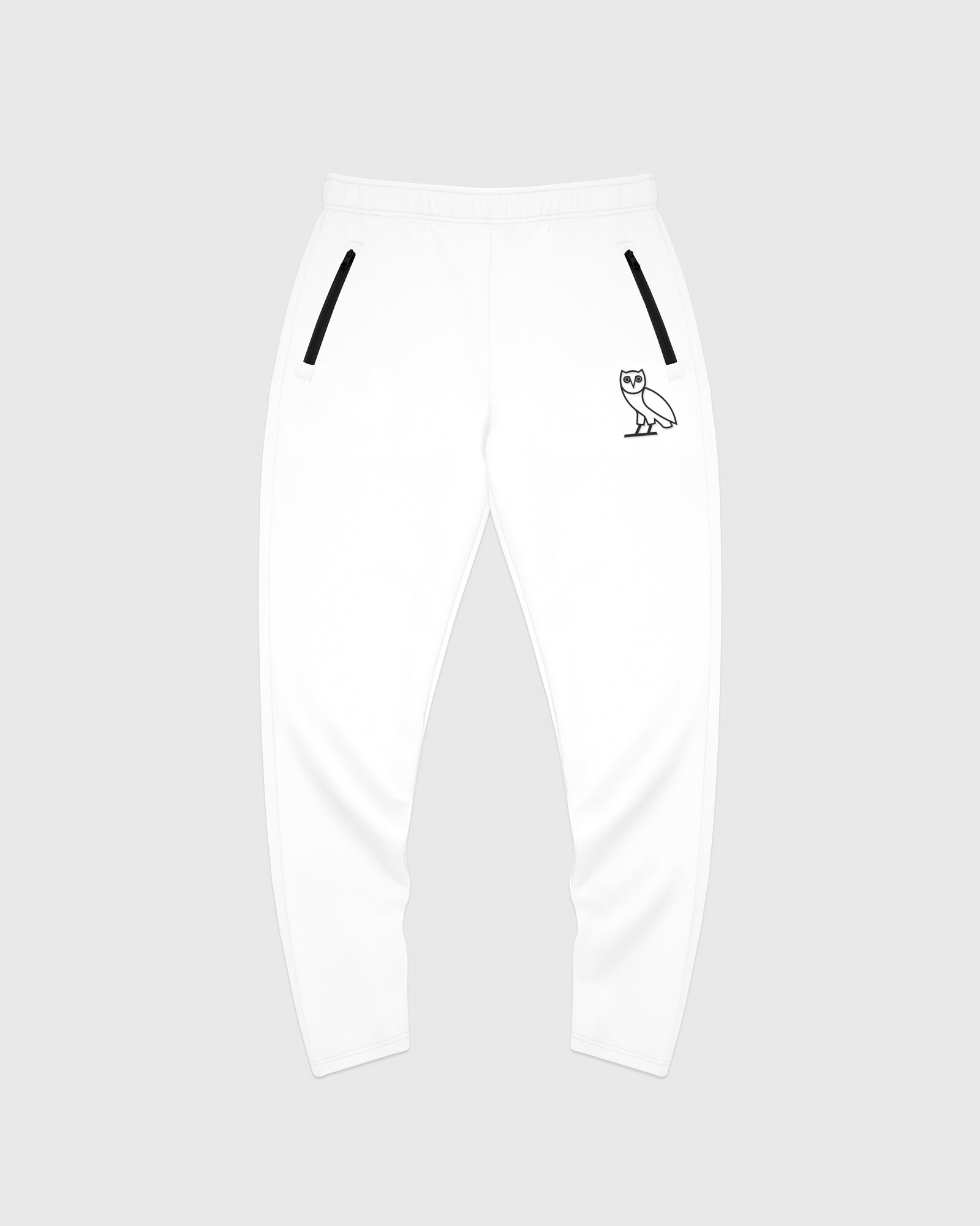 OVO INTERLOCK PANT - WHITE IMAGE #1
