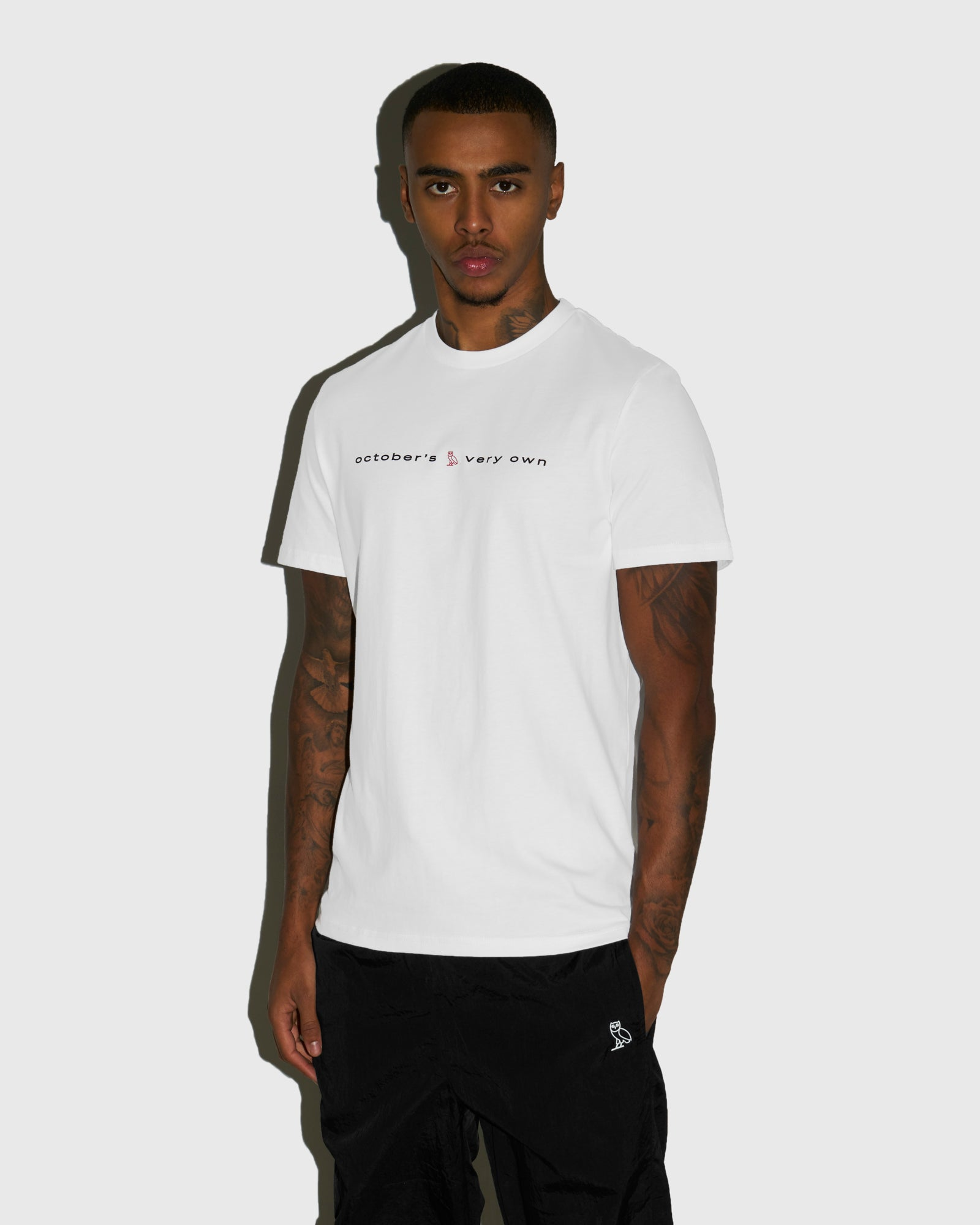 STUDIO WORDMARK T-SHIRT - WHITE IMAGE #2