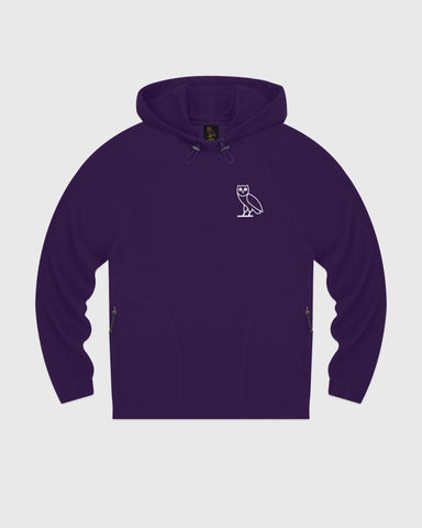 OVO LIGHTWEIGHT FRENCH TERRY HOODIE - PURPLE