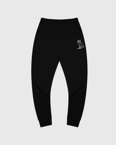 OVO LIGHTWEIGHT FRENCH TERRY SWEATPANT - BLACK