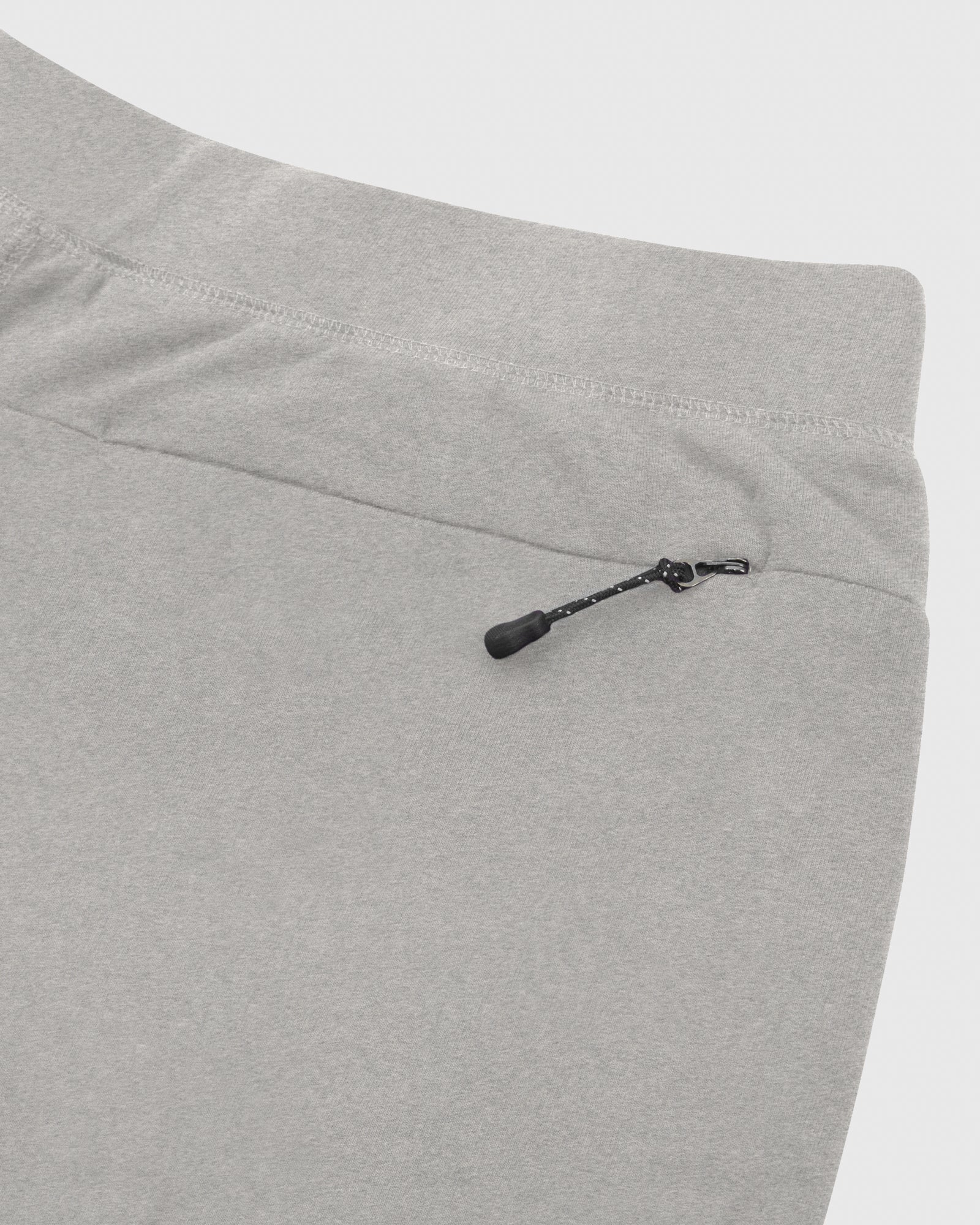 OVO LIGHTWEIGHT FRENCH TERRY SWEATPANT - HEATHER GREY IMAGE #5