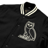 OVO TEAM JACKET - BLACK