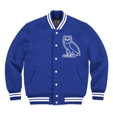 OVO TEAM JACKET - ROYAL BLUE