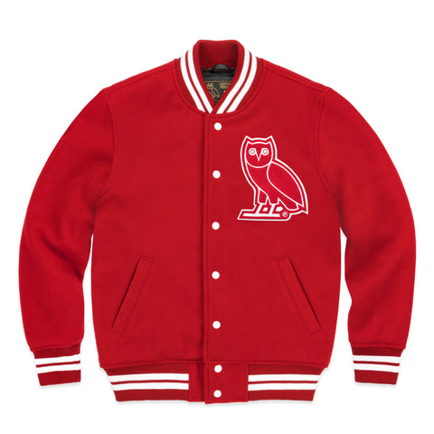 OVO TEAM JACKET - RED