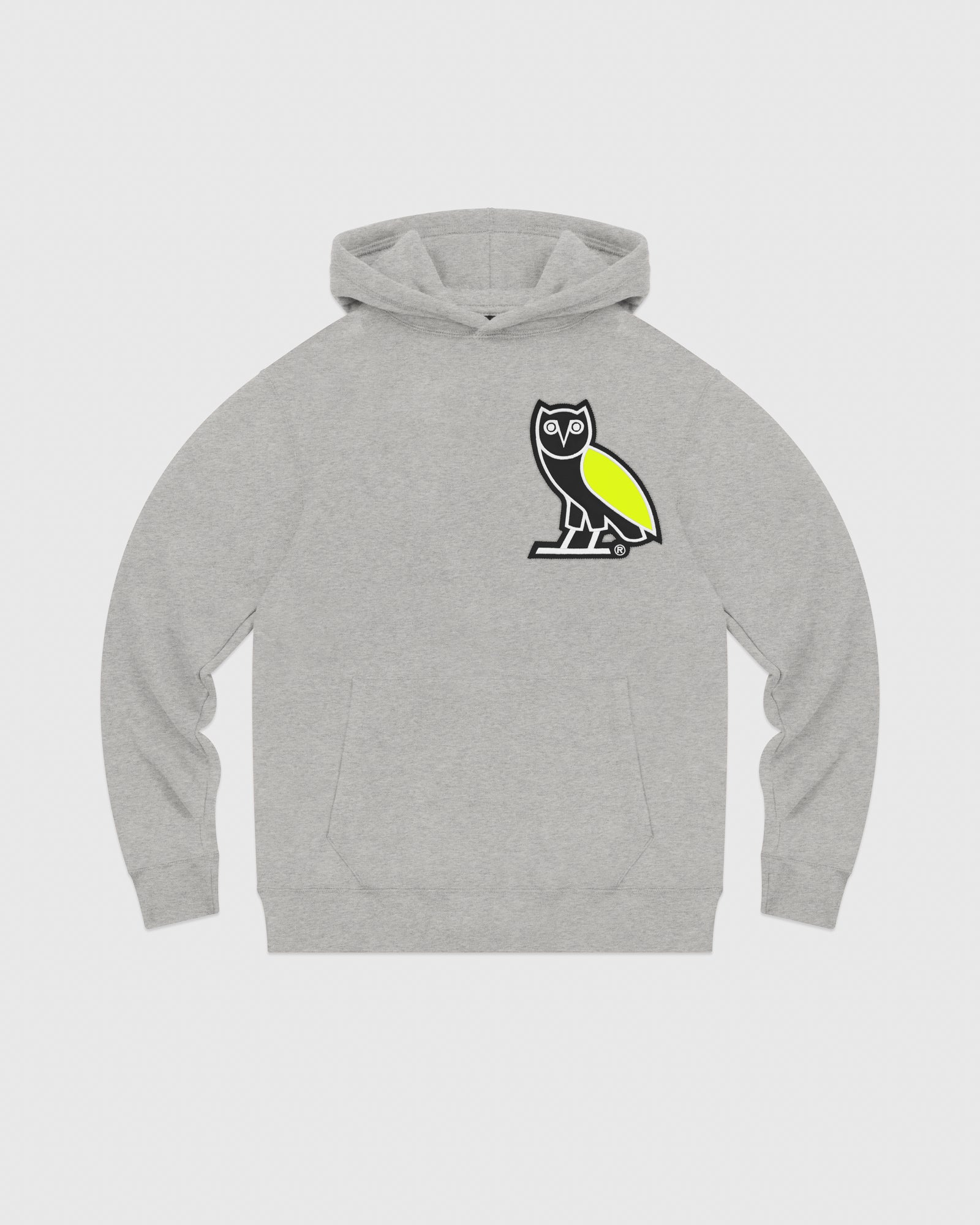 OVO FRANCHISE HOODIE - HEATHER GREY