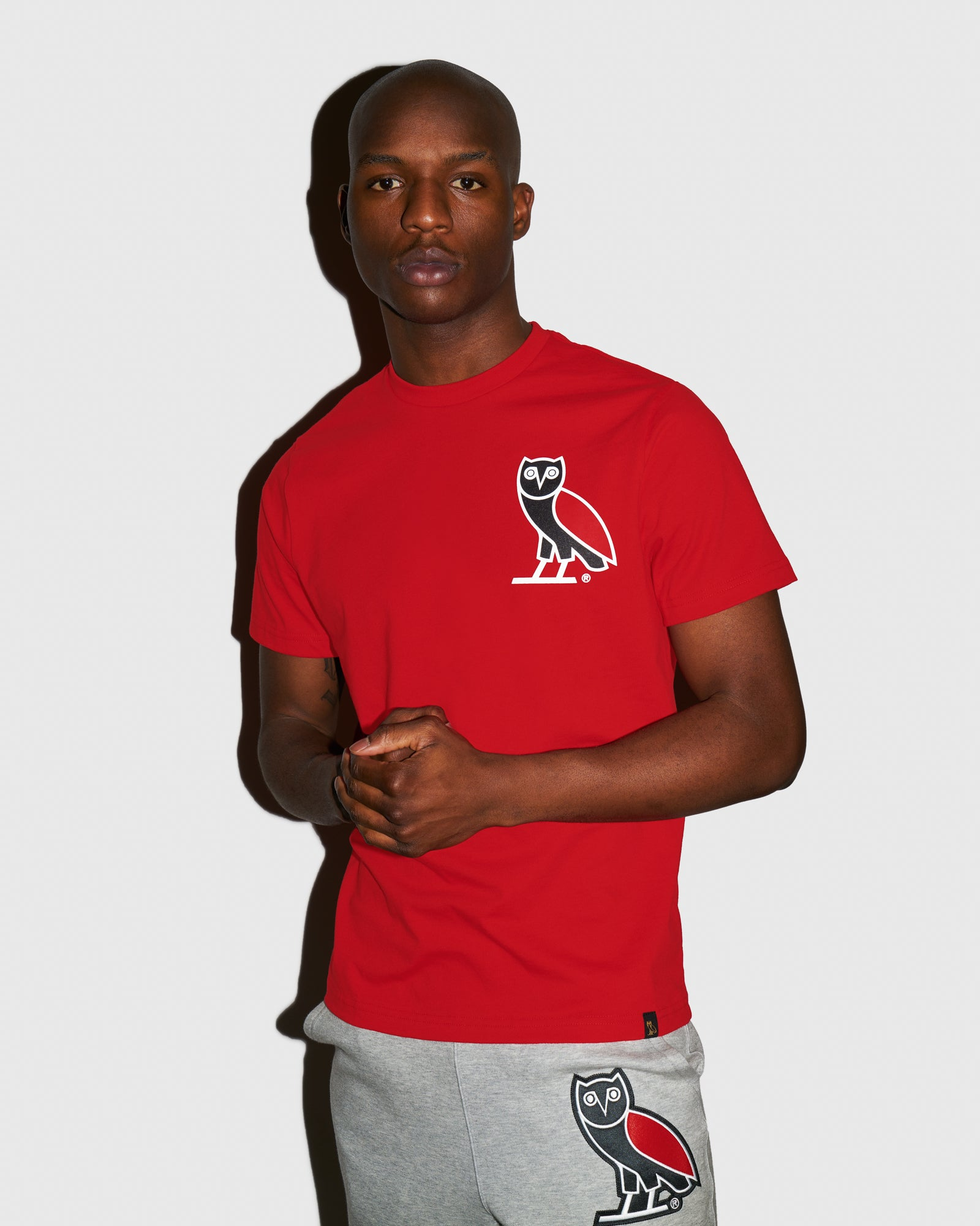 OVO FRANCHISE T-SHIRT - RED IMAGE #2