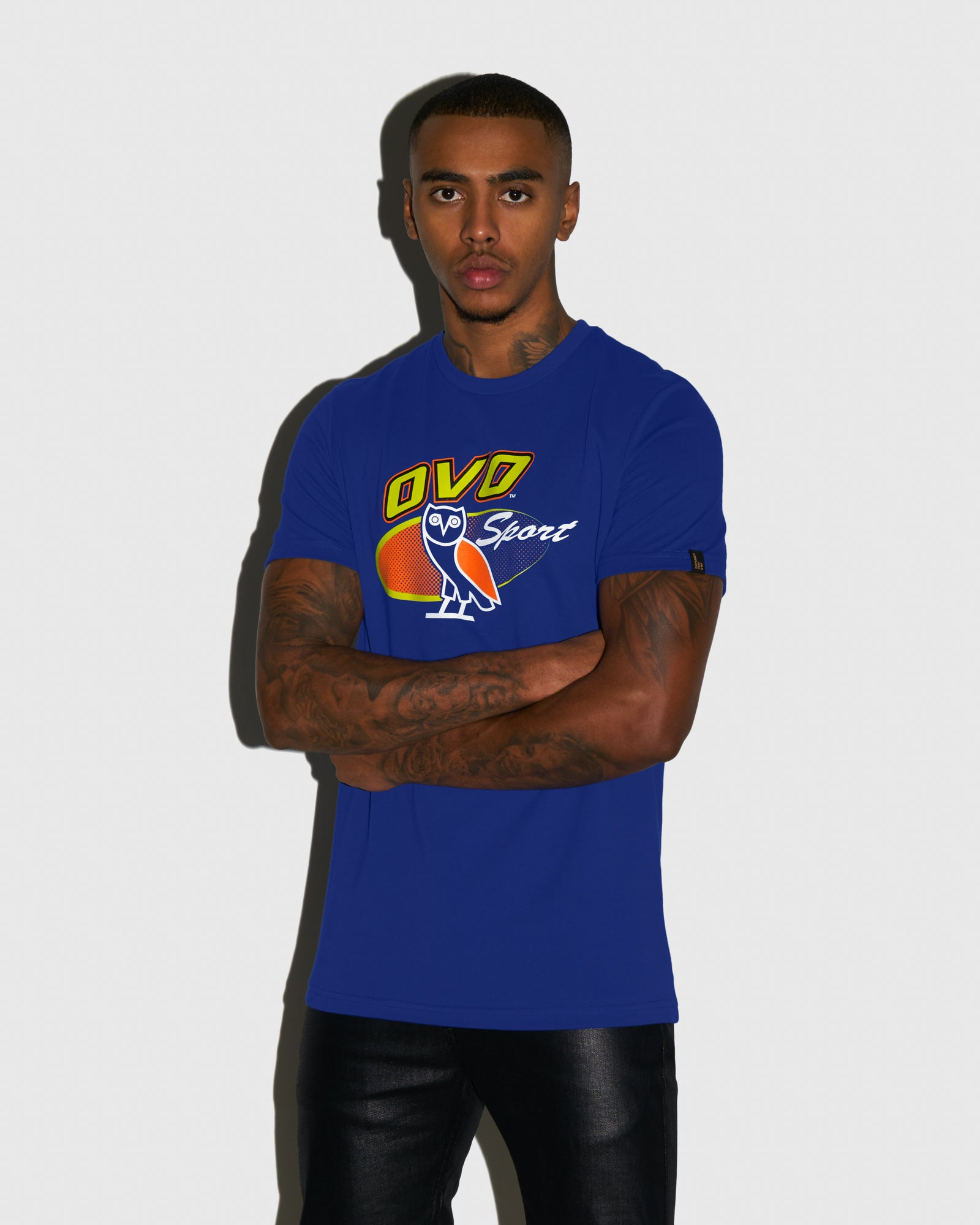 TEAM SPORT T-SHIRT - ELECTRIC BLUE IMAGE #2